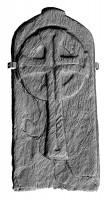 Cross slab 1, Glendalough