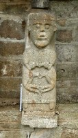 Photograph of Christian figure 5 at White Island, Co. Fermanagh
