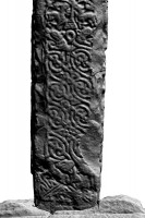 Northern lower shaft of Southern High Cross, Kells