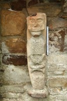 Photograph of Christian figure 1 at White Island,Co. Fermanagh