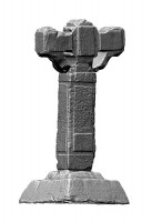 Perspective view 2 of the Eastern High Cross, Kells
