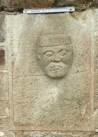 Photograph of Christian figure 8 at White Island, Co. Fermanagh
