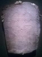 Photograph of cross slab 86, Clonmacnoise
