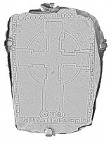 Plan view of cross slab 86, Clonmacnoise