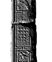 Panel 2 on northern shaft of Western High Cross, Kells
