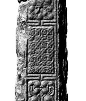 Panel 2 on southern shaft of Western High Cross, Kells