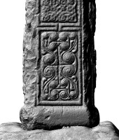 Panel 1 on southern shaft of Western High Cross, Kells