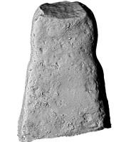 Rear elevation of Lustymore man, Boa Island, Co. Fermanangh