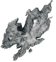 Digital terrain model (DTM) of Skellig Michael, Co. Kerry