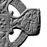 Eastern right arm of head of Southern High Cross, Kells