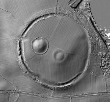 Digital terrain model (DTM) of Navan Fort, County Armagh