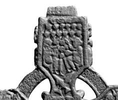 Eastern top arm of head of Southern High Cross, Kells