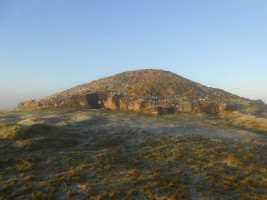 Photograph 1 of Cairn T passage tomb, Loughcrew