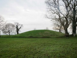 Photograph of main mound at Navan Fort, County Armagh