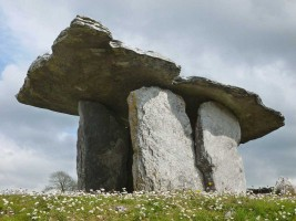 Photograph 1 of Poulnabrone portal tomb, Co. Clare
