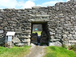 Photograph of entrance to Staigue Fort, Kerry