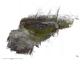 Perspective view 1 of Dúcathair Stone Fort point cloud