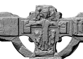 Centre of eastern head of Eastern High Cross, Kells