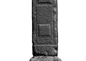 Eastern lower shaft of Eastern High Cross, Kells