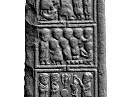 Panel 2 on eastern shaft of Western High Cross, Kells