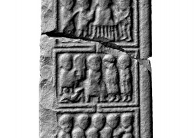 Panel 3 on eastern shaft of Western High Cross, Kells