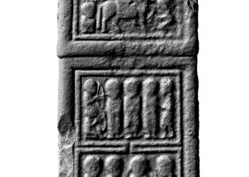 Panel 5 on eastern shaft of Western High Cross, Kells