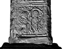 Panel 1 on western shaft of Western High Cross, Kells