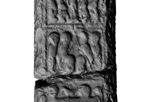 Panel 3 on western shaft of Western High Cross, Kells
