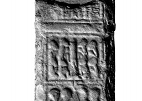 Panel 4 on western shaft of Western High Cross, Kells