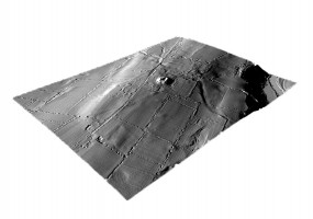 Perspective view 2 of the Dowth Archaeological Complex digital terrain model (DTM)