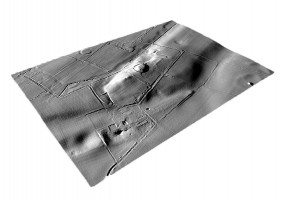 Perspective view 4 of the Newgrange Archaeological Complex digital terrain model (DTM)