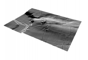 Perspective view 4 of the Knowth Archaeological Complex digital terrain model (DTM)