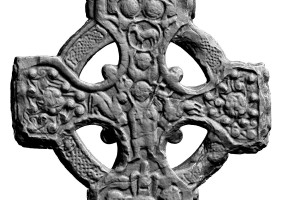 Western centre of head of Southern High Cross, Kells