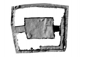 Plan section view of Small Oratory, Skellig Michael