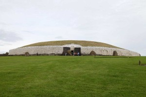Photograph of Passage Tomb, Newgrange