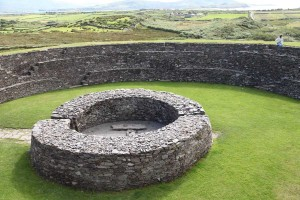 Internal photo of Cahergal Stone Fort, Kerry
