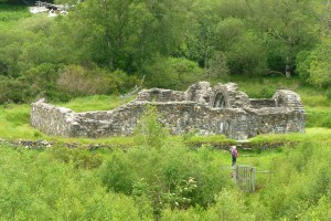 External photograph of St Saviour's Priory, Glendalough