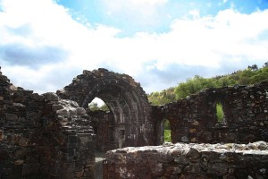 Internal photograph of St Saviour's Priory, Glendalough