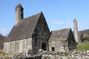 Photograph of St. Kevin's Church Glenadlough