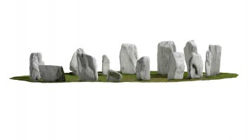 Elevation view 1 of Drombeg Stone Circle, Co. Cork