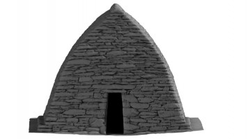 Front elevation of Gallarus Oratory, Kerry