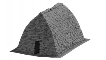Perspective view 1 of Gallarus Oratory, Kerry