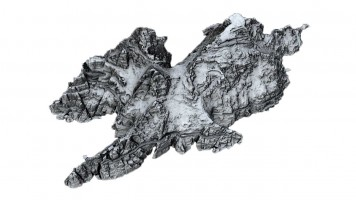 Perspective view 4 of digital terrain model (DTM) of Skellig Michael Island