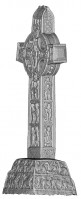 Perspective view 4 of the Cross of the Scriptures, Clonmacnoise