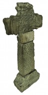 Image of the isometric view looking NW of the Market Cross 3D untextured scan model, Glendalough