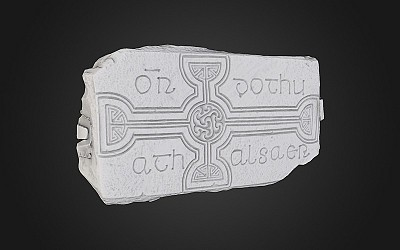 Cross Slab 253, Clonmacno...